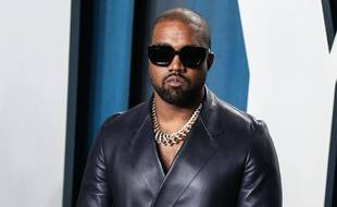Kanye West à Los Angeles 25 avril 2020