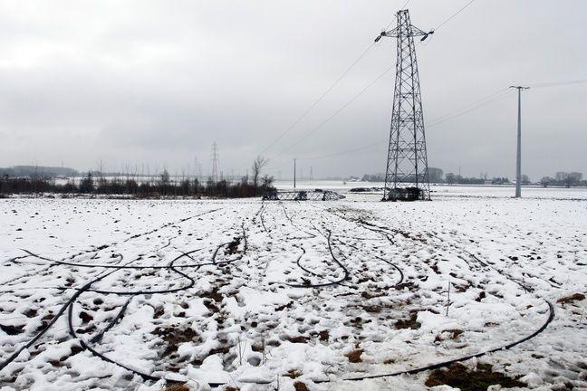 29.000 foyers étaient encore privés d'électricité dans la Drôme, l'Isère et l'Ardèche après les premières chutes de neige
