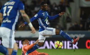 Strasbourg-Lyon au stade de la Meinau