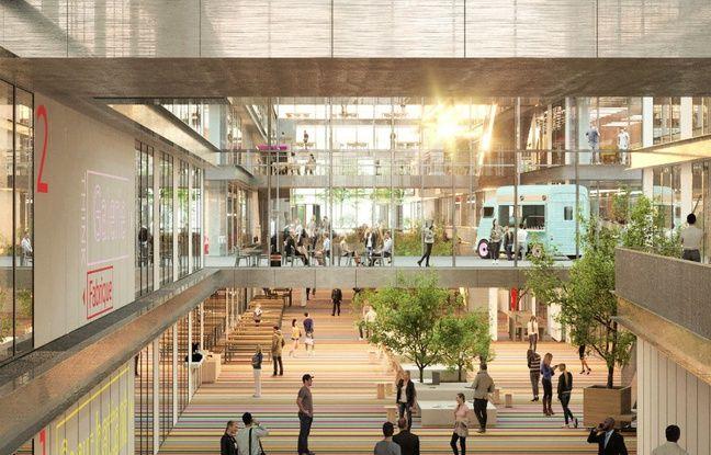 Le futur campus d'EM Lyon s'articulera autour d'une Agora.