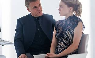 Christoph Waltz et Léa Seydoux dans «007 Spectre».