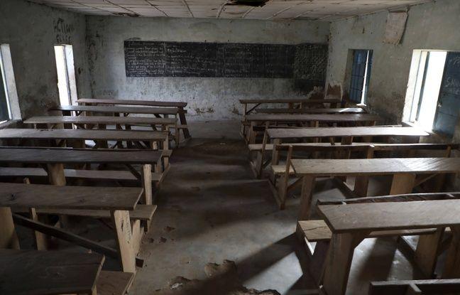 648x415 une classe vide d une ecole du nigeria attaquee le 18 fevrier dernier
