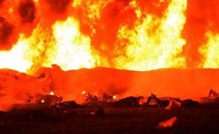 L'incendie de l'oléoduc au Mexique a tué au moins une vingtaine de personnes.