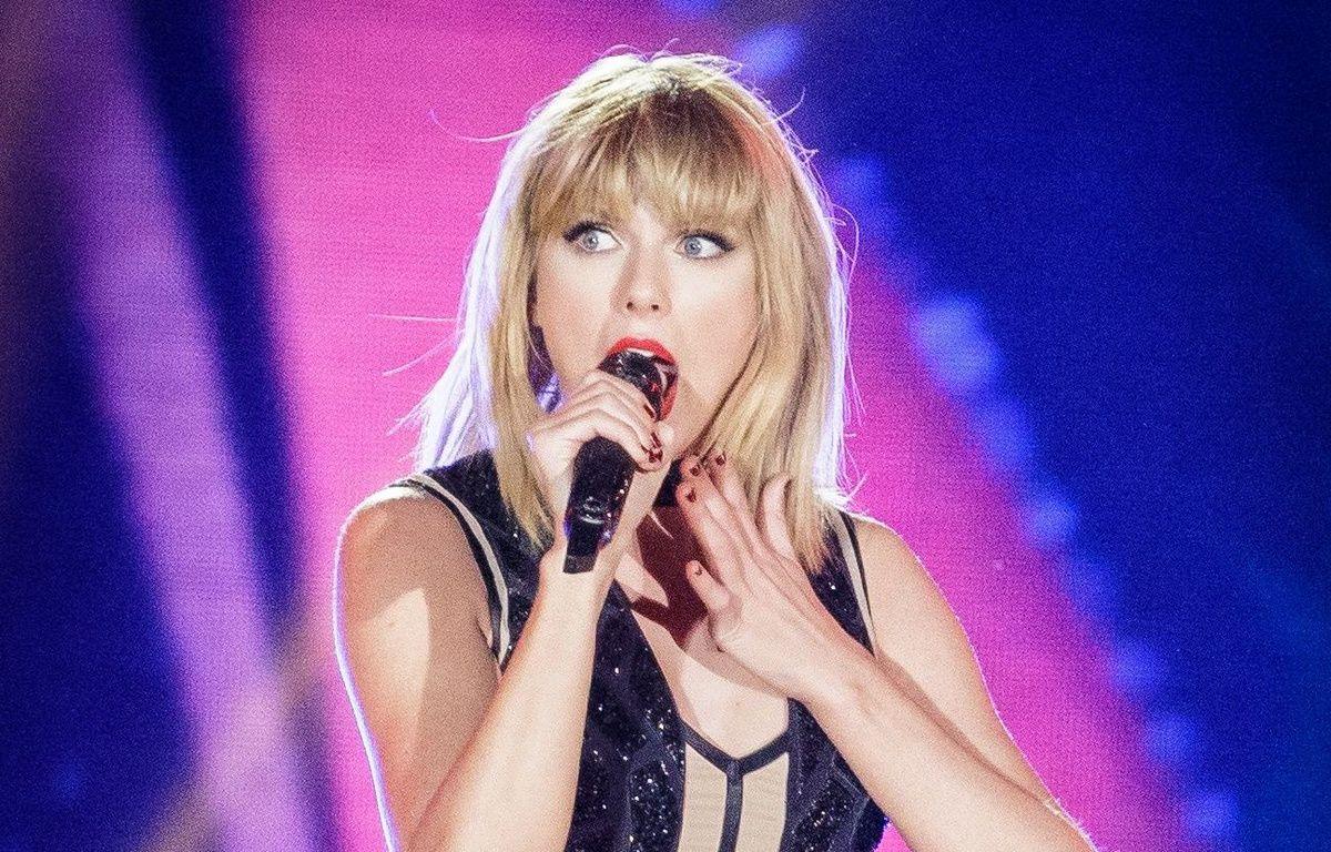 Taylor Swift sur scène à Austin, Texas, le 21 octobre 2016. AFP PHOTO / SUZANNE CORDEIRO – AFP