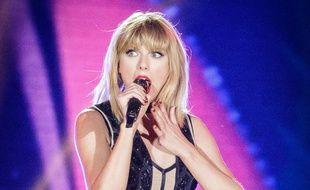 Taylor Swift sur scène à Austin, Texas, le 21 octobre 2016. AFP PHOTO / SUZANNE CORDEIRO