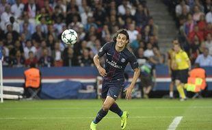Edinson Cavani a beaucoup raté lors du match entre le PSG et Arsenal le 13 septembre 2016.