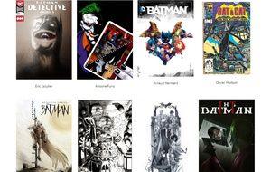 Quelques candidats au prix Jeunes talents comics 2019