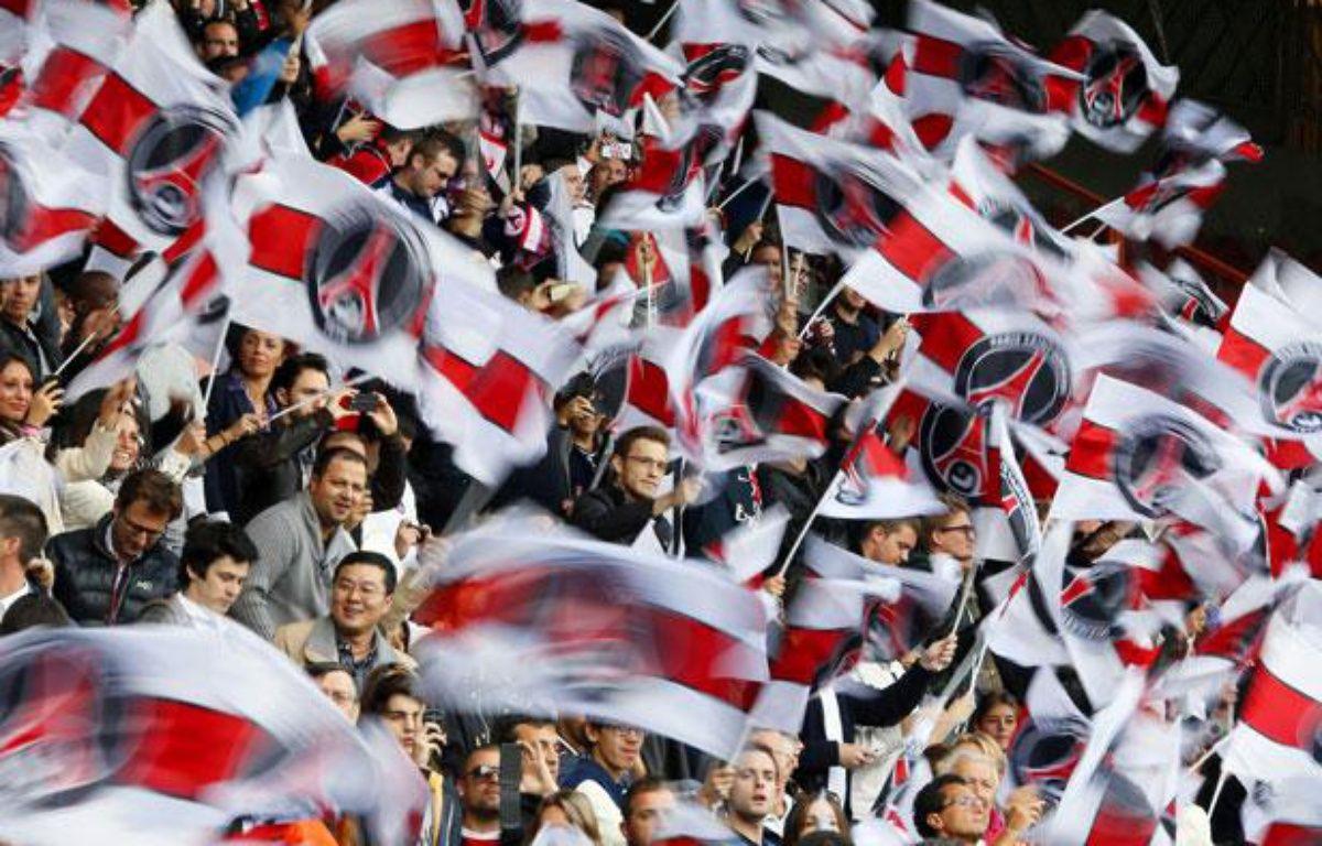 Les tribunes du Parc des Princes lors d'un match du PSG contre Sochaux, en septembre 2012. – AFP PHOTO / KENZO TRIBOUILLARD