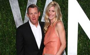 Lance Armstrong et sa future femme, Anna Hansen