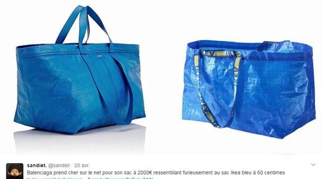 S'amuse Sac 1 Ikea 695 De La D'un À Euros Balenciaga Ressemblance fmb76vIYgy