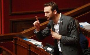 """Paris, le 24 février 2020. Député (LFI) Ugo Bernalicis accuse sept personnalités de la justice de """"parjure"""""""