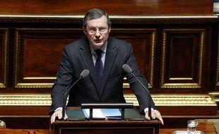 Philippe Bas, sénateur (LR) à la tête de la commission des Lois, a présenté avec le rapporteur du texte le