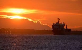 Illustration d'un tanker