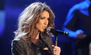 La chanteuse québécoise Céline Dion