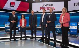 Le débat était diffusé sur France 2 mercredi.