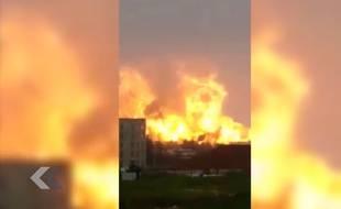 Une nouvelle explosion impressionnante en Chine - Le Rewind (vidéo)