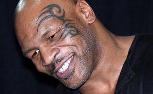 L'ancien champion de boxe Mike Tyson, le 11 octobre 2013 à Las Vegas (Etats-Unis).