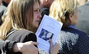 Obsèques d'Angélique Six à Wambrechies, le 5 mai 2018.