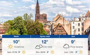Météo Strasbourg: Prévisions du vendredi 26 février 2021
