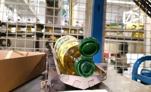 L'usine Lesieur de Vitrolles produit l'ensemble des bouteilles d'huiles d'olive Puget.