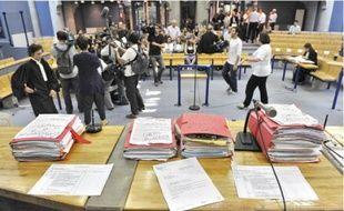 Le procès de l'ex-star de la chanson, à Bobigny, s'est déroulé devant un vaste auditoire.