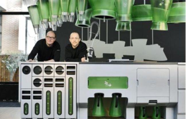 Victor Massip et Laurent Lebot exposent actuellement une maquette du projet à Paris.