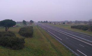 Les lieux de l'accident mortel de Sainte-Flaive-des-Loups, en Vendée, le 20 décembre.