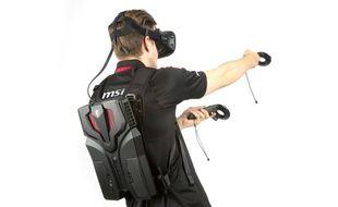 Pas donné, mais Graal pour les gamers, le sac à dos VR One de MSI propose une expérience de la réalité virtuelle libérée de ses câbles.