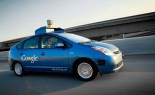 La Google Car, un véhicule autonome capable de conduire tout seul.
