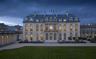 Le palais de l'Elysée, côté jardin, à Paris (image d'illustration).