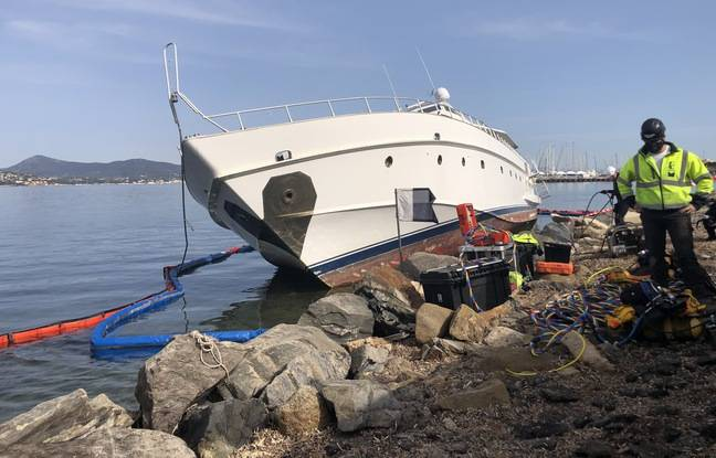 Un yacht de trente mètres échoué depuis deux ans démantelé aux frais de l'Etat