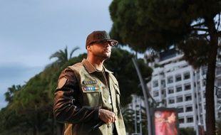 Booba sur le plateau du «Grand Journal» à Cannes, en mai 2014.