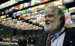 L'ex-secrétaire général de la Concacaf Chuck Blazer le 25 mai 2012 à Budapest