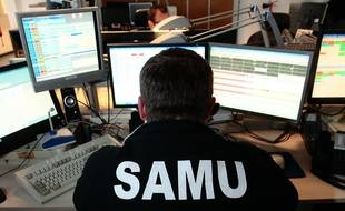 Illustration. Marseille le 6 février 2013 - Le centre du SAMU à  l ' hôpital de la Timone