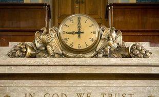 """Les républicains de la Chambre des représentants américaine ont voté mardi pour encourager l'usage de la devise nationale des Etats-Unis """"In God we Trust"""" (""""En Dieu nous croyons""""), imprimée sur tous les billets de banques américains."""
