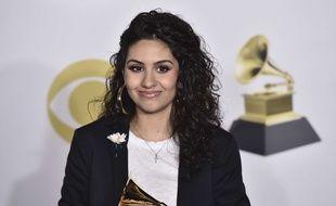 La chanteuse Alessia Cara a remporté le prix de la «Révélation de l'année» aux Grammy Awards
