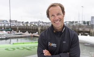 Le skipper Thomas Coville.