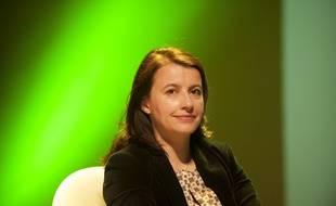 Cécile Duflot, le 6 mars 2014 à Angoulême.