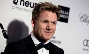Gordon Ramsay va prendre la tête du restaurant gastronomique du Grand Hôtel de Bordeaux. (Photo by Richard Shotwell/Invision/AP)/INVW/293543179915/022215110468, 21334631, /1502241608