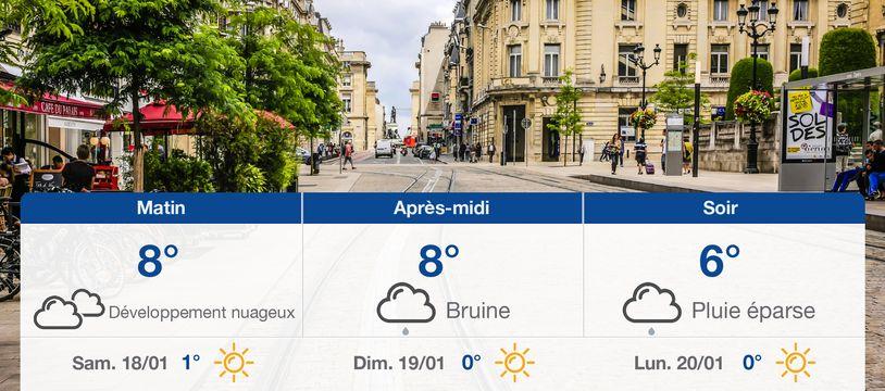 Météo Reims: Prévisions du vendredi 17 janvier 2020