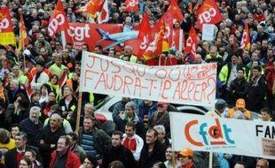 L'essoufflement du mouvement de protestation contre la réforme des retraites en France était nettement perceptible jeudi au cours de la septième journée d'action depuis septembre contre ce projet phare de Nicolas Sarkozy.