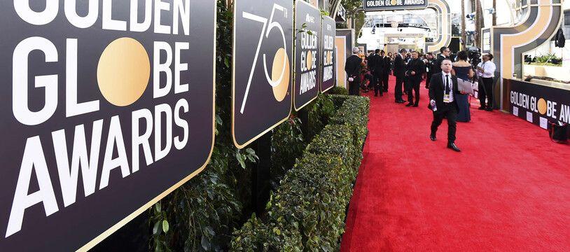 Le red carpet des Golden Globes en 2018.