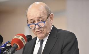 Jean-Yves Le Drian, le 21 janvier 2020.
