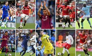 Les principaux transferts de l'été en Premier League sont sur cette photo.