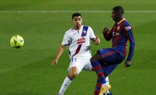 Malgré un but de Dembélé, le Barça a encore laissé filer des points