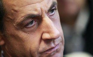 Le président de la République Nicolas Sarkozy, à Bordeaux, le 15 novembre 2011.
