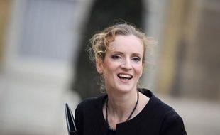Nathalie Kosciusko-Morizet, lors du premier conseil des ministres du nouveau gouvernement Fillon, mercredi 17 novembre