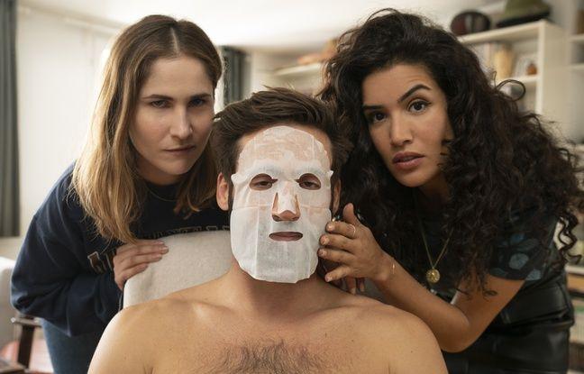 Joséphine Draï, Guillaume Labbé et Sabrina Ouazani dans la saison 2 de Plan Coeur.