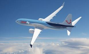 La compagnie Jetairfly, propriété du groupe TUI