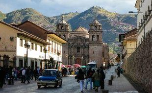 Le centre-ville de Cusco, au Pérou (illustration).